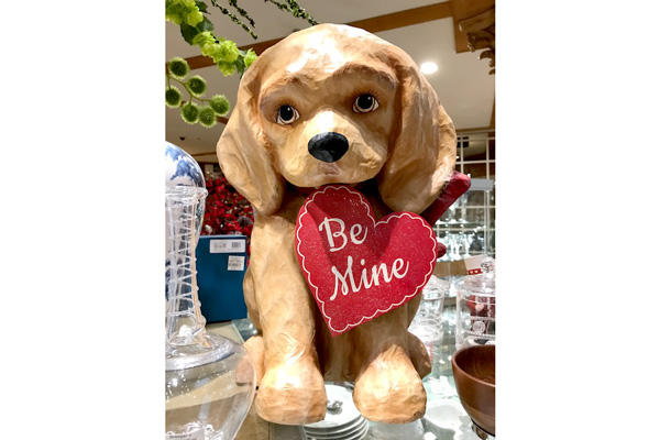 Bethany Lowe, the big Be Mine Puppy $192.00