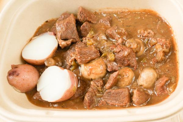 Burgundy Stew Meal