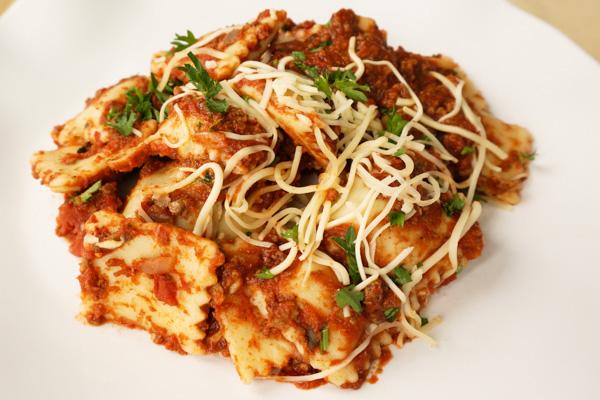 Meat Ravioli Pasta