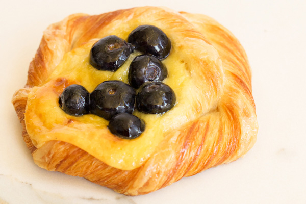 Danish, Blueberry