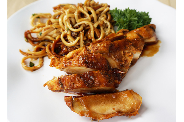 Teriyaki Chicken With Sesame Noodles