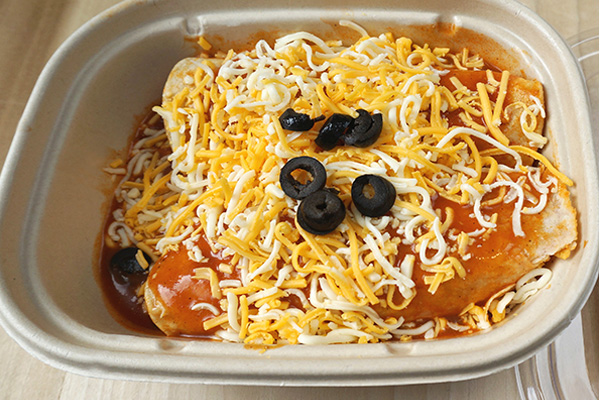 Cheese Enchilada Double