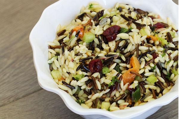 Orzo & Wild Rice Salad