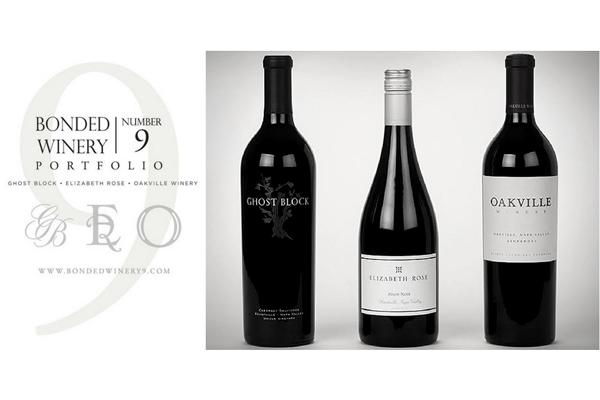Bonded #9 Winery: Ghostblock, Oakville & Elizabeth Rose Wine Dinner