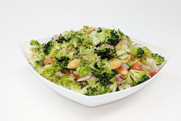 Roasted Broccoli & Peanut Salad