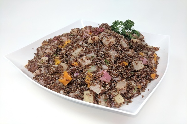 Red Quinoa with Heirloom Beets