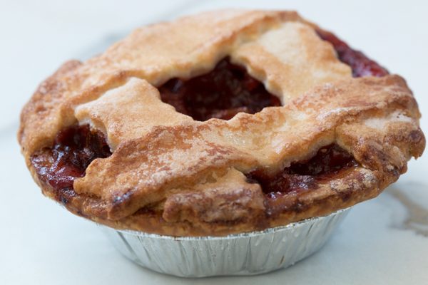 Strawberry Rhubarb Pie - Individual