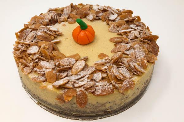 "Pumpkin Cheesecake - 8"""