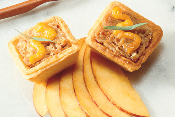 Roasted Duck Tartlets