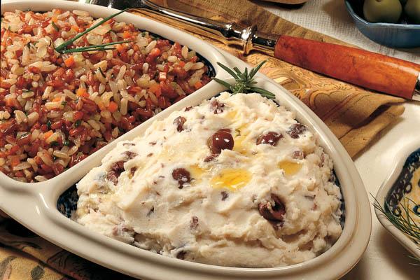 Olive Mashed Potatoes