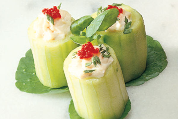 Japanese Cucumber Cups