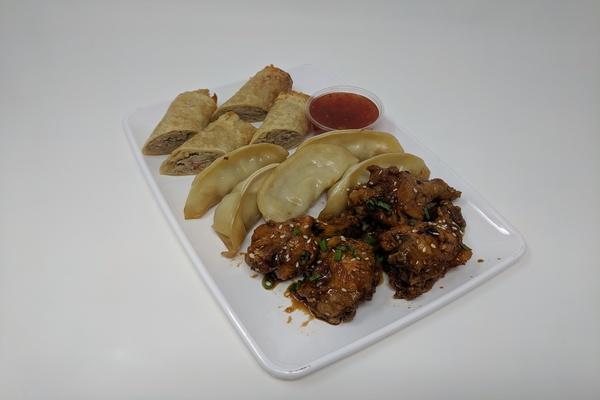 Asian Food Platter