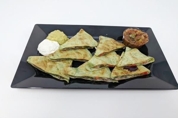 Quesadilla  Bite-Sized Vegetarian