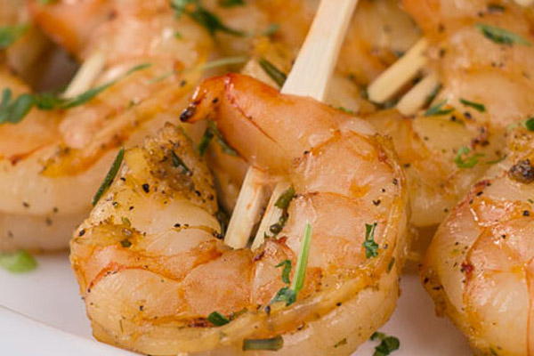 Lemon Rosemary Shrimp