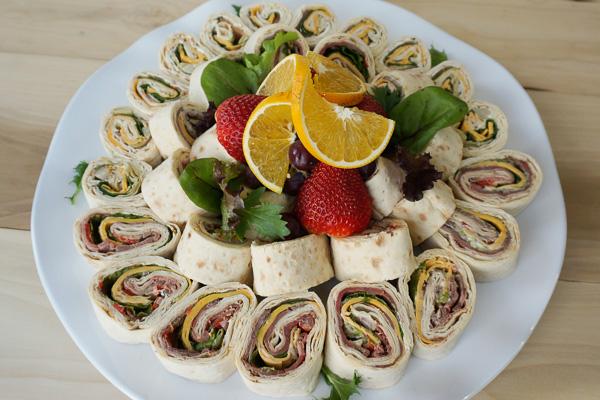 Aram Sandwich Platter - A Trio Of Finger Sandwiches