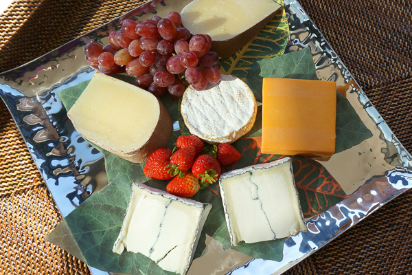 California Collection Cheese Tray