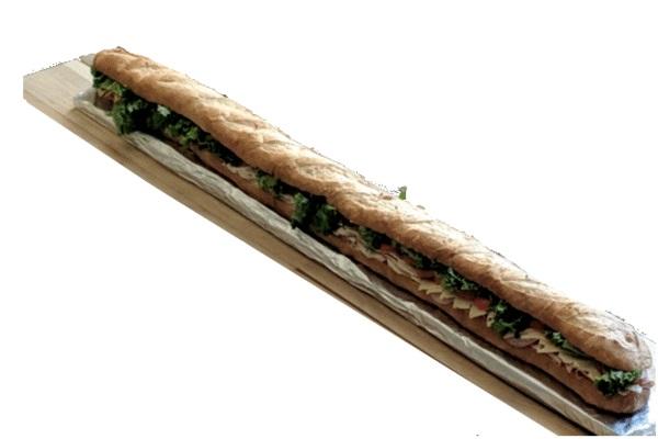 Six-Foot-Long Stadium Sandwich
