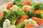 Steamed Seasonal Vegetables : Per Person