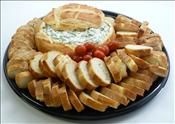 Spinach Dip Bread Round : Serves 15