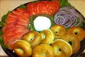 Lox mini-bagels and Cream Cheese : Per Person 6 person minimum