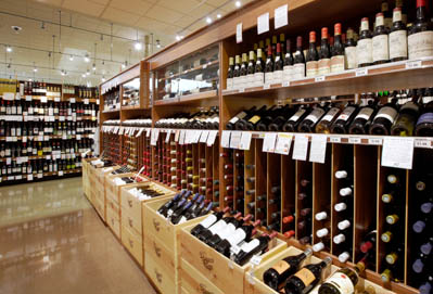 Draeger's Wine Department