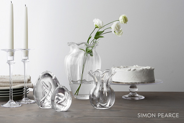 Simon Pearce vases