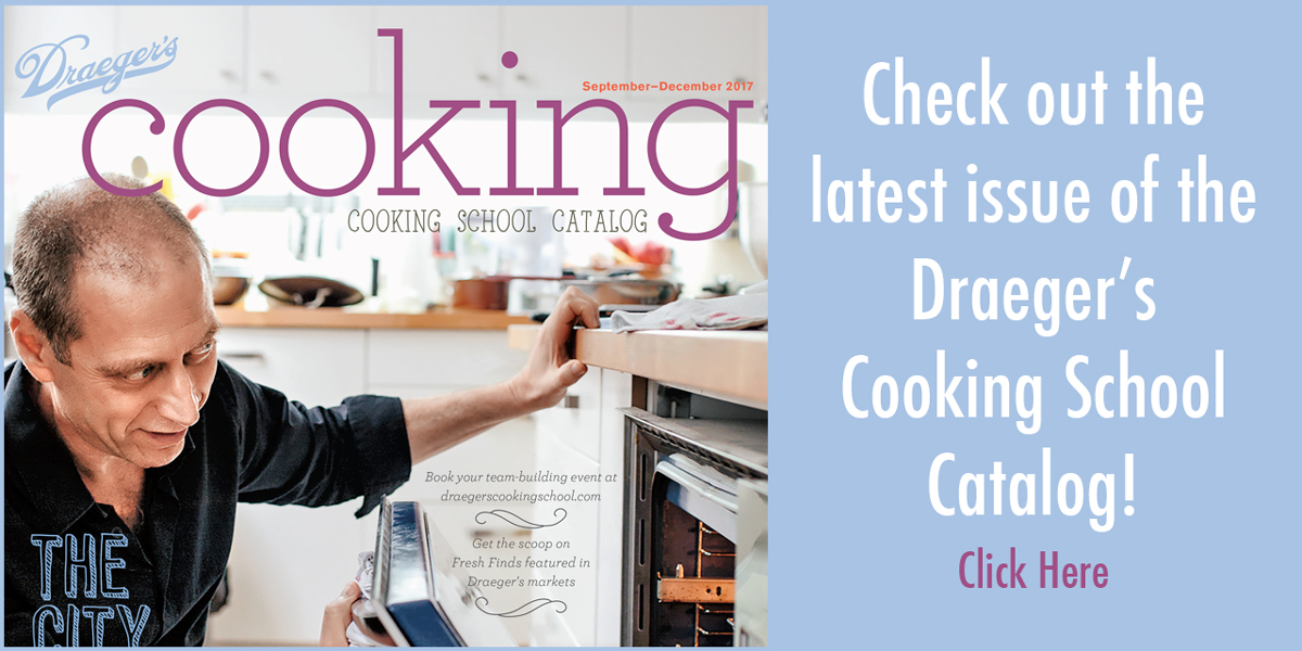Draeger's Cooking School Catalog