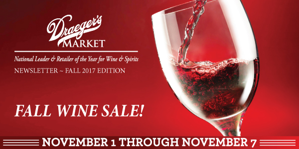Fall Wine Sale