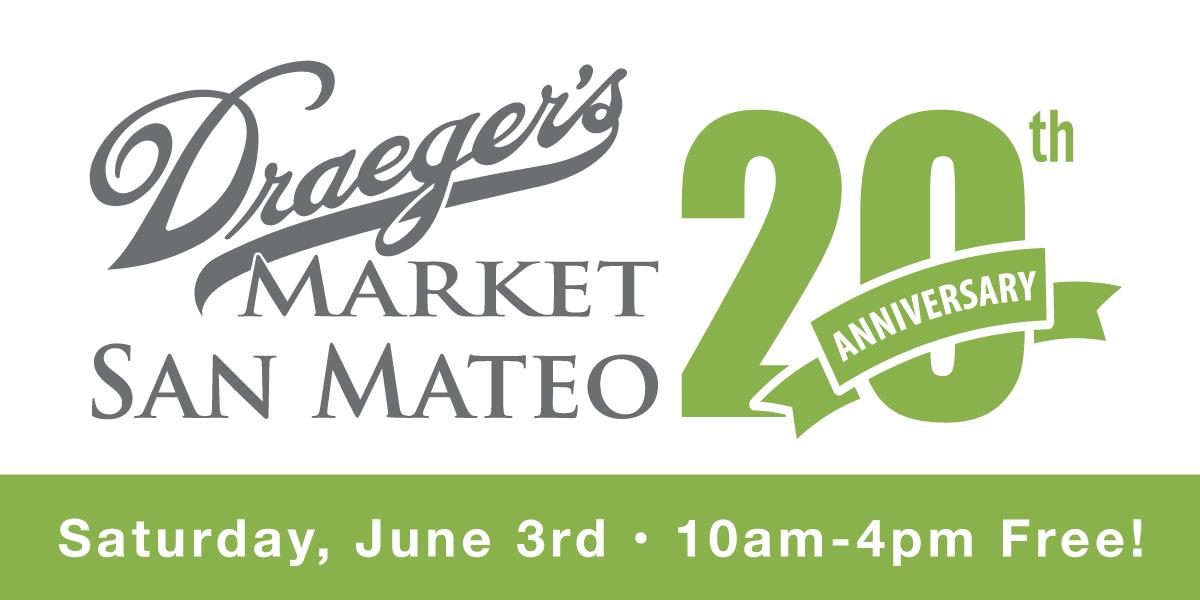 Draeger's San Mateo 20th Anniversary