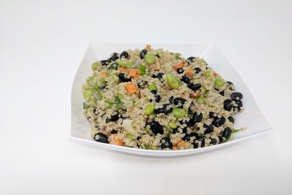 Draeger's Quinoa  Edamane & Black Beans Salad