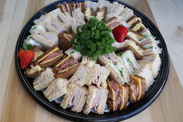 Draeger's Tea Sandwiches