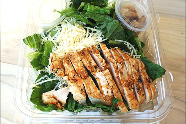 Draeger's Chicken Caeser Salad Small