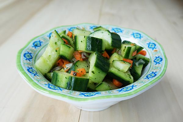 Draeger's Summer Cucumber Salad