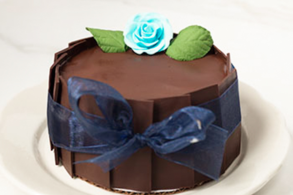 Draeger's Double Chocolate Mousse Cake