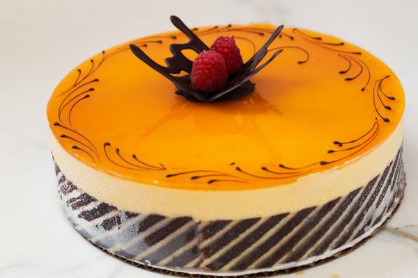 Draeger's Mango Mousse Cake