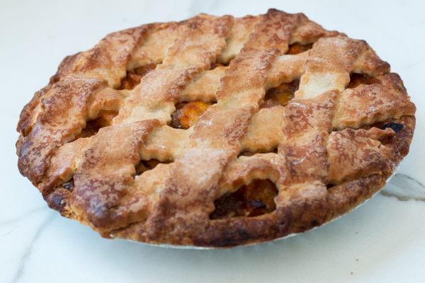 Draeger's Peach Pie