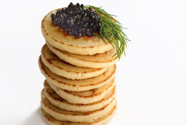 Draeger's Blinis Caviar