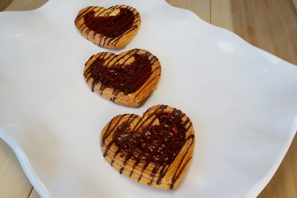 Draeger's Raspberry Almond Heart Cookie