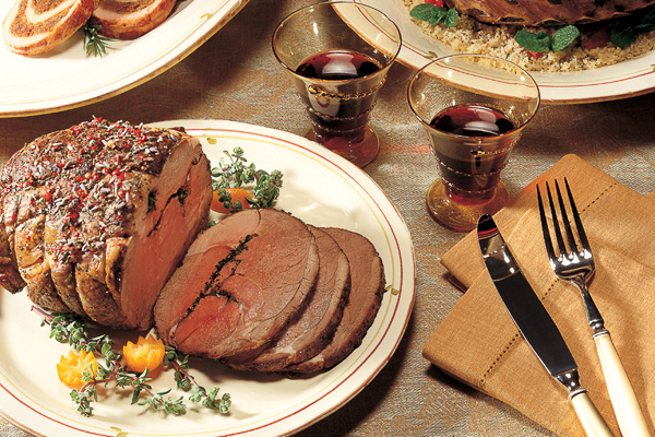 Draeger's Herb Roasted Leg of Lamb