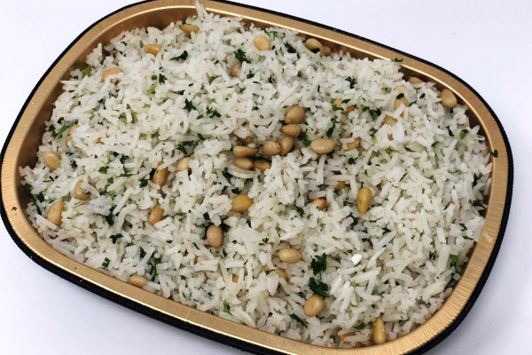 Draeger's BAKED BASMATI RICE AND PINE NUTS