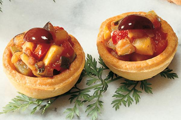 Draeger's Ratatouille Mini Tartlets
