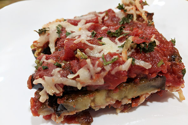 Draeger's Grilled Eggplant Parmigiana