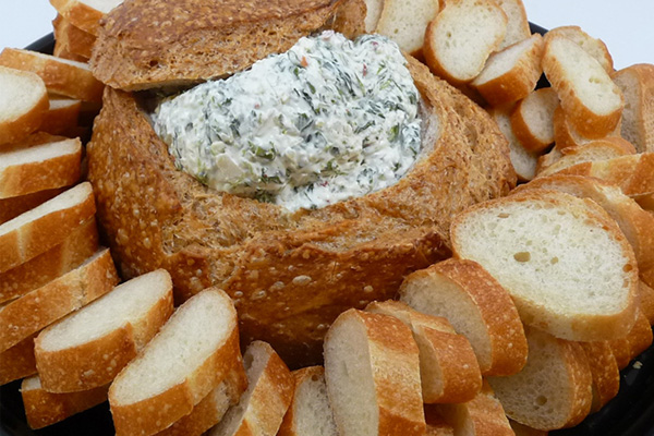 Draeger's Spinach Dip Bread Round
