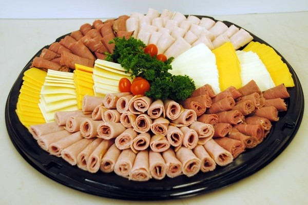 Draeger's Meat and Cheese Platter