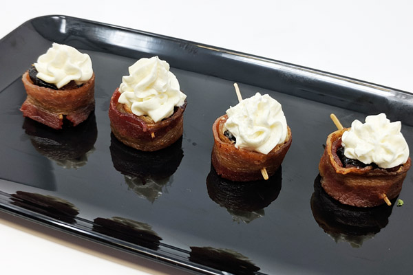 Draeger's Bacon-Wrapped Prunes