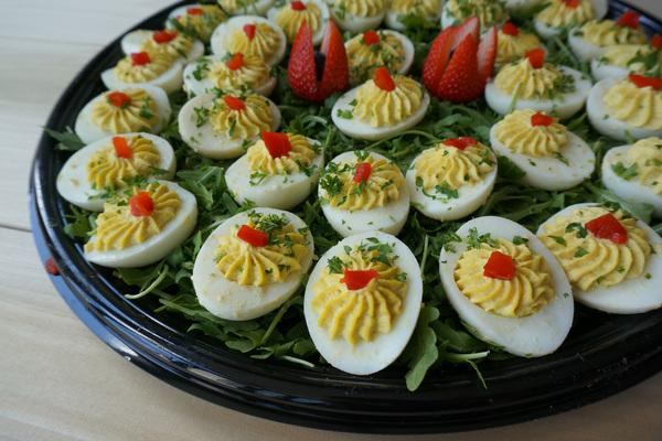 Draeger's Stuffed Eggs