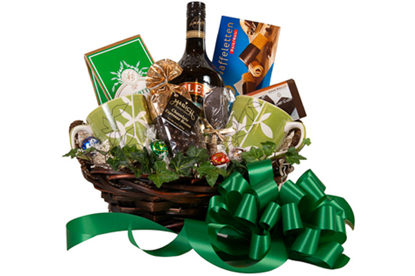 Draeger's Bailey's Irish Cream Coffee Basket