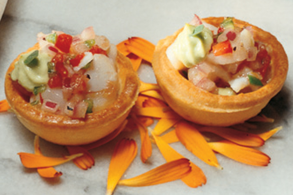 Draeger's Ceviche Tartlets