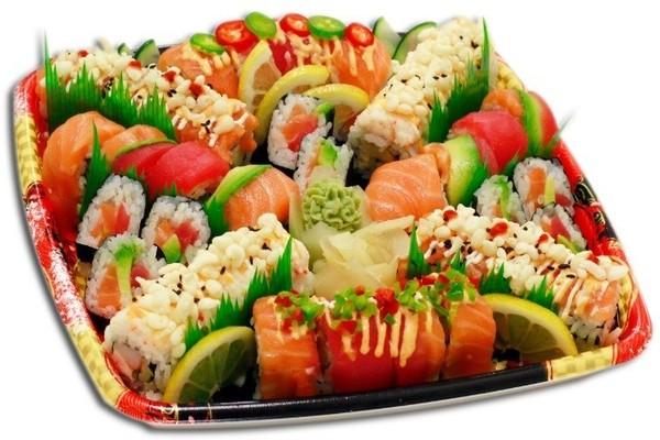 Draeger's Sunny Delight Sushi Platter