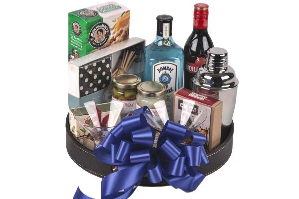 Draeger's Martini Basket